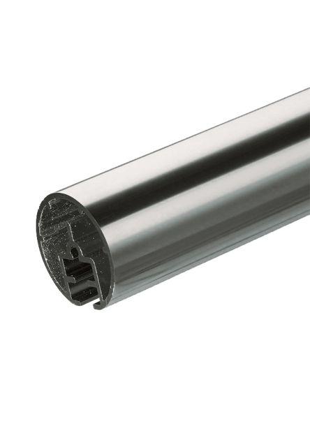 Håndliste i aluminium PROVA PS4 2 meter